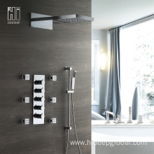 Thermostatic Four Function Bath and Shower Mixer